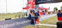 Se corona en EU la coahuilense Jimena de la Peña como campeona nacional de triatlón