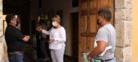 Supervisa Yolanda Cantú cumplimiento de medidas sanitarias en Cuatro Ciénegas