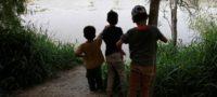 Desprotegidos y sin comida: Tres niños se pierden en la frontera con EU; cruzaron el muro sin familia