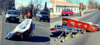 El cadáver de Claudia terminó tirado en la carretera: Su féretro salió volando del coche fúnebre