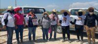 ¡Los buscamos porque los amamos!, familiares de desaparecidos buscan en brechas de Monclova