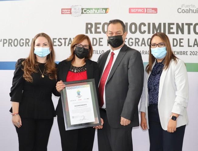 Cumple Instituto Coahuilense de las Mujeres con obligaciones en control interno