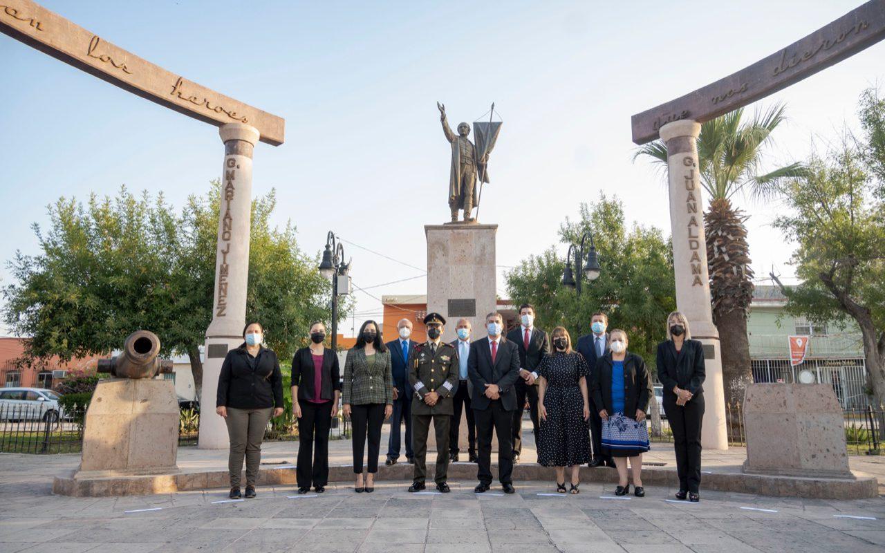 Inicia Ayuntamiento de Monclova mes de la patria con evento cívico