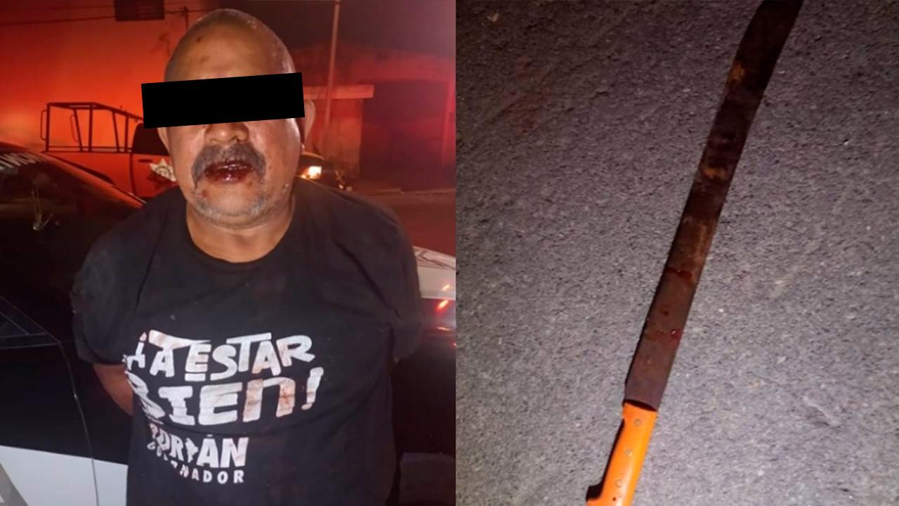 Con machete, ebrio le cortó el dedo a su 'compadre': solo puso 10 pesos para las cervezas