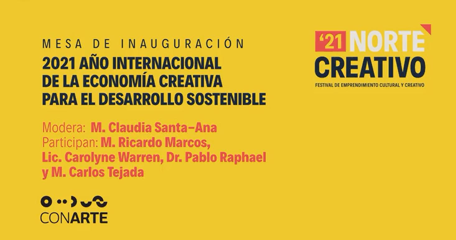 Cultura Coahuila participa en 21 norte creativo, Festival de Emprendimiento Cultural