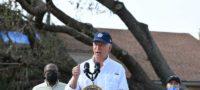 Biden visita zona destruida por el huracán 'Ida' en Luisiana