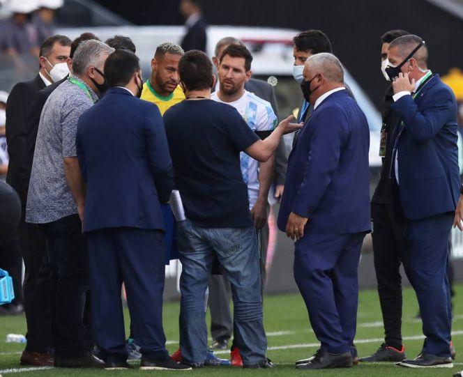 FIFA fija postura tras suspensión del Brasil vs Argentina