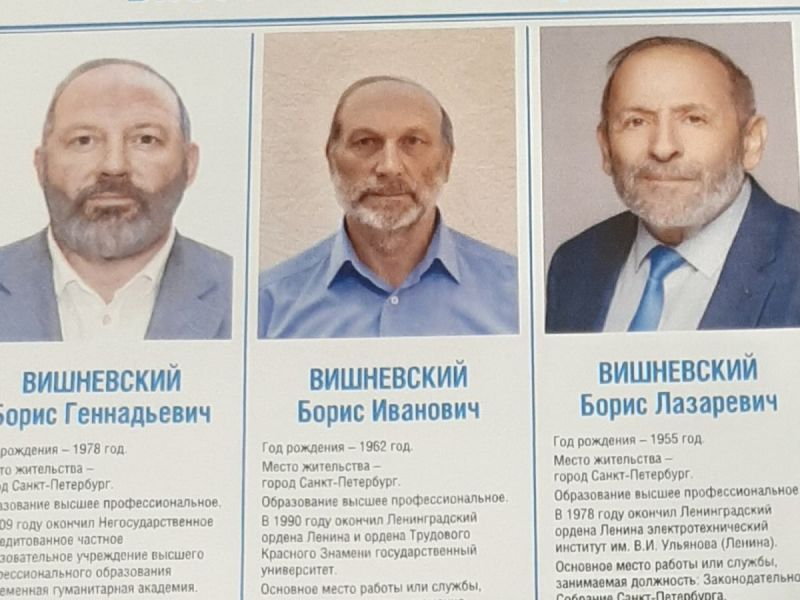 Doppelgänger electoral: candidato acusa que 2 rivales son su 'doble'