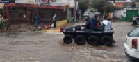 Ecatepec amanece entre toneladas de lodo y escombros tras lluvias e inundaciones