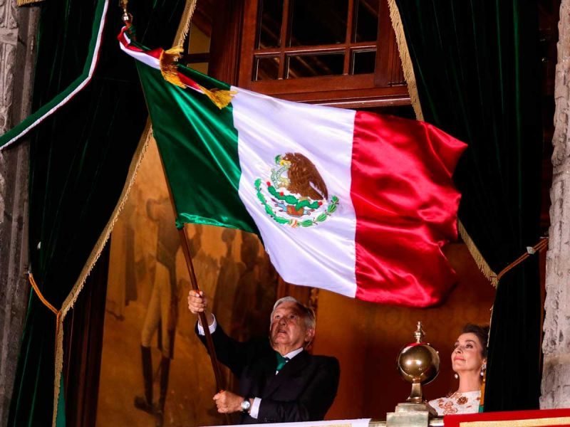 Por covid-19, López Obrador dará Grito de Independencia sin público