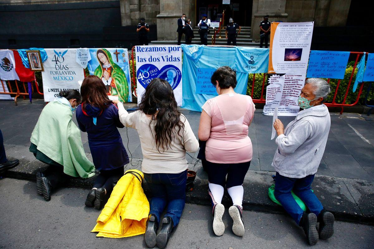 Se derrama sangre inocente e indefensa: más de 3 mil Iglesias Cristiana contra el aborto en Coahuila