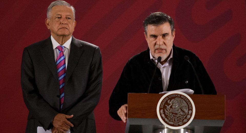 Vocero de AMLO niega renuncia de Scherer a Consejería Jurídica