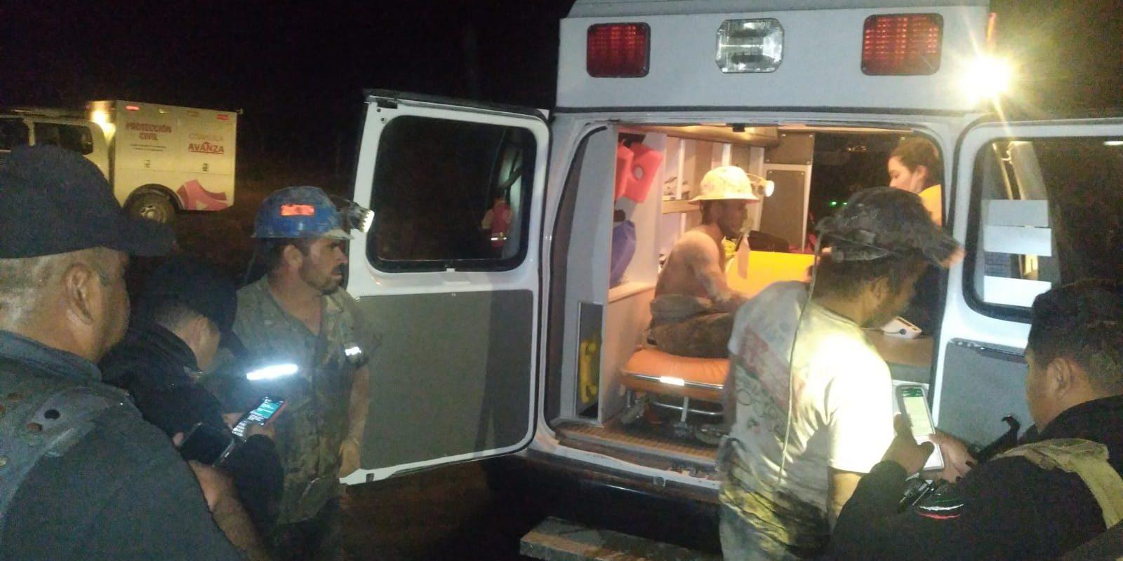 Derrumbe en Mina de Obayos; rescatan a 4 mineros atrapados