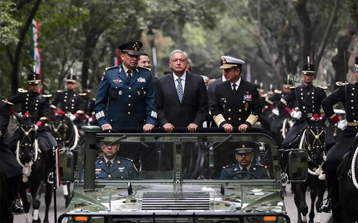 AMLO niega que exista militarización en México: 'SEDENA y Marina instituciones fundamentales para el pueblo'