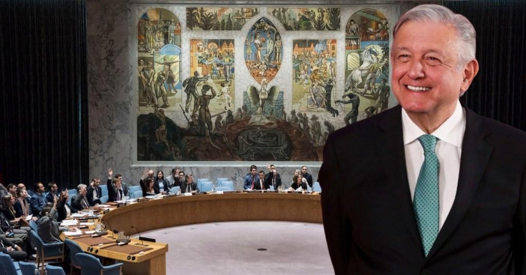 AMLO podría visitar sede de la ONU en noviembre; 'México ocupará la presidencia del Consejo de Seguridad', señaló