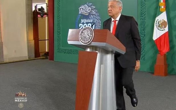 AMLO se para en un solo pie y afirma: La corrupción es el primer, segundo y tercer problema de México