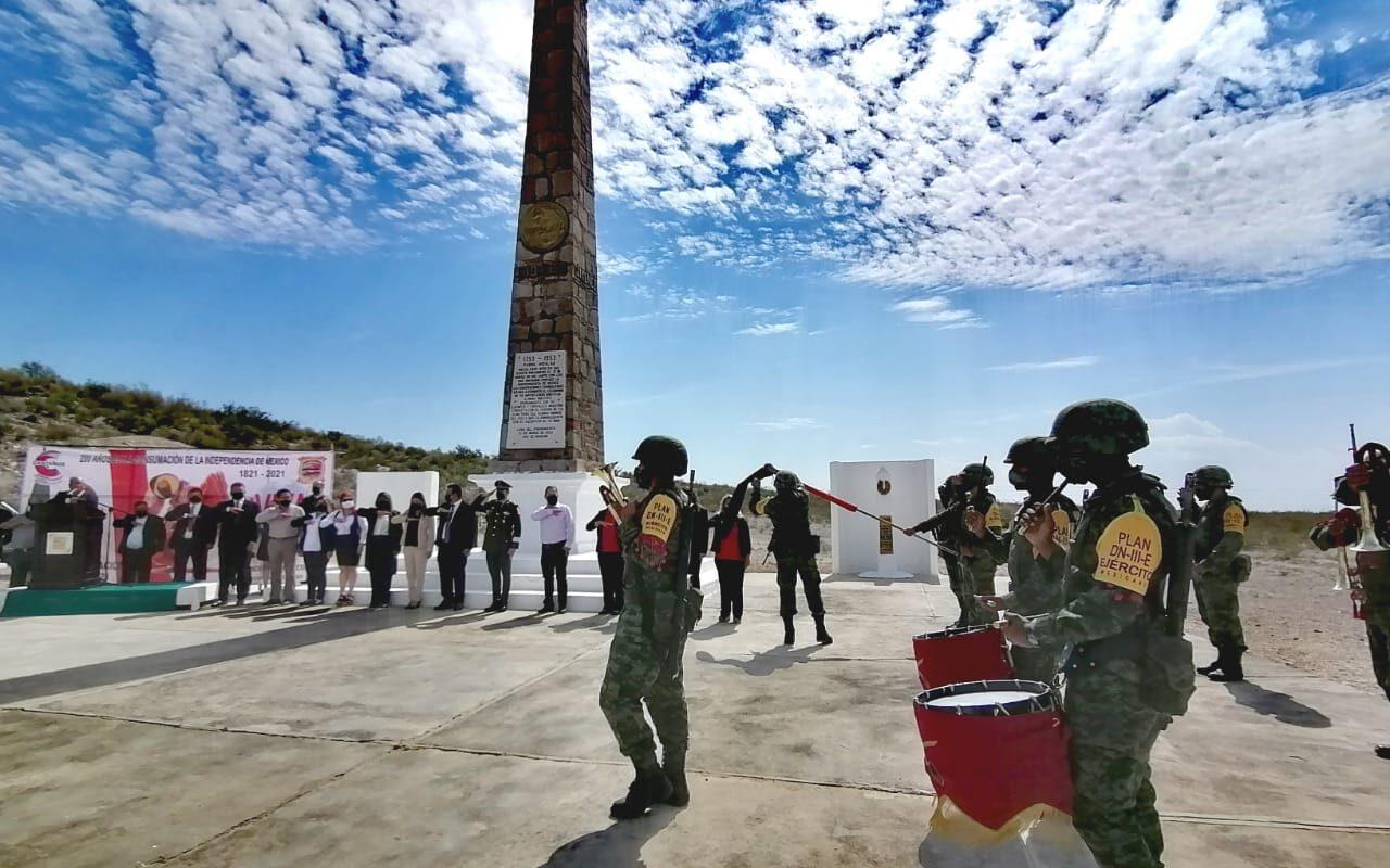 Acatita de Bajan en Castaños, sede de la consumación de la Independencia