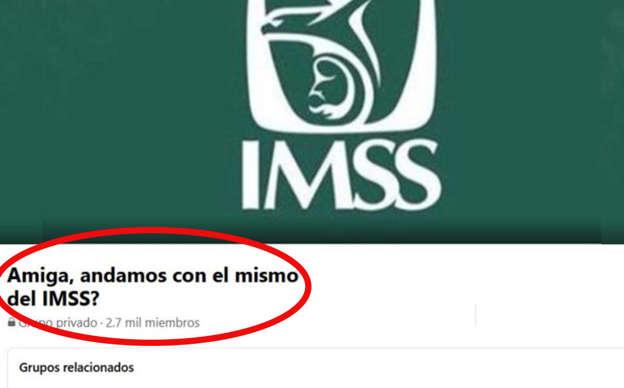 'Amiga, ¿andamos con el mismo?'; mujeres crean grupo de Facebook para 'quemar' a infieles del IMSS
