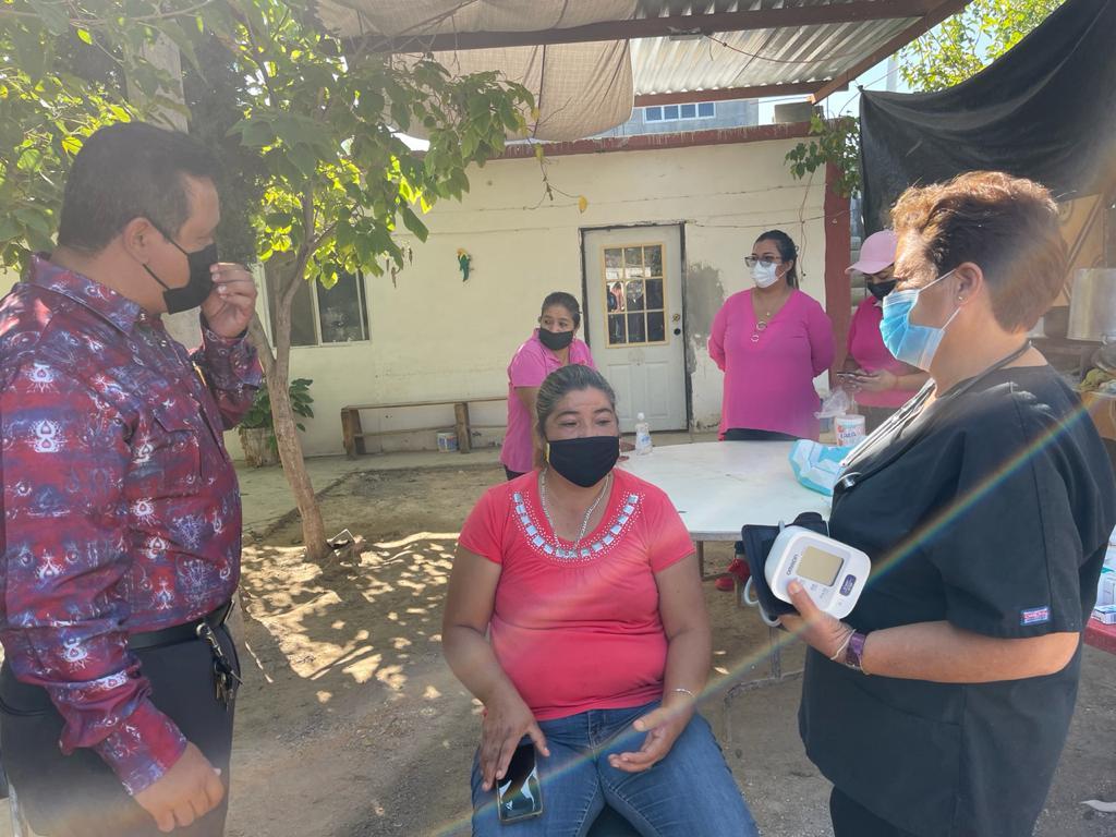 Ayuntamiento de Castaños lleva brigada a Ejido Espinazo