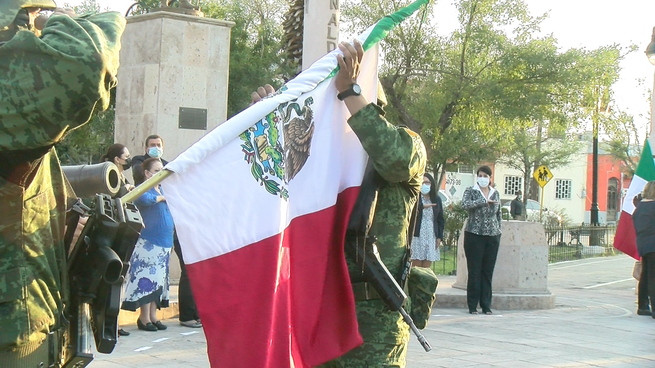 Conmemoran el 200 aniversario de la Consumación de la Independencia de México