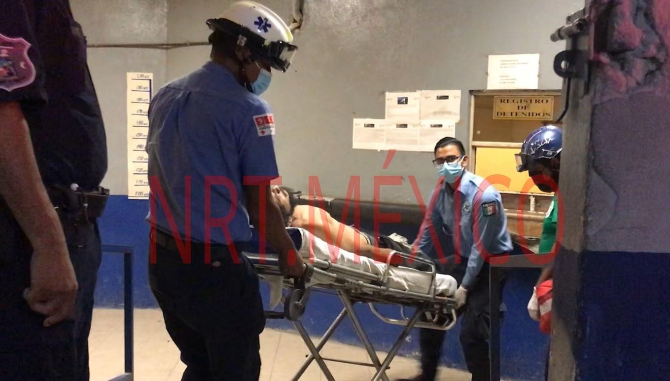 De las celdas al hospital, detenido resiente dolores de un balinazo; en Monclova