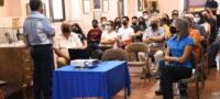 Realizan penúltima conferencia en el Museo El Polvorín