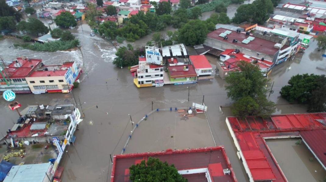 Desbordamiento del río Tula provoca inundaciones en hospital de Hidalgo; confirman la muerte de 16 pacientes