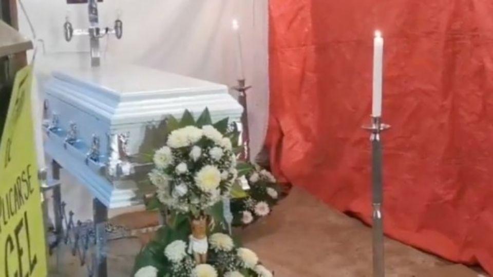 Después 6 días de angustia, Mía fue hallada muerta tras el colapso de un cerro; Jorge se despidió de su hijita de 3 años