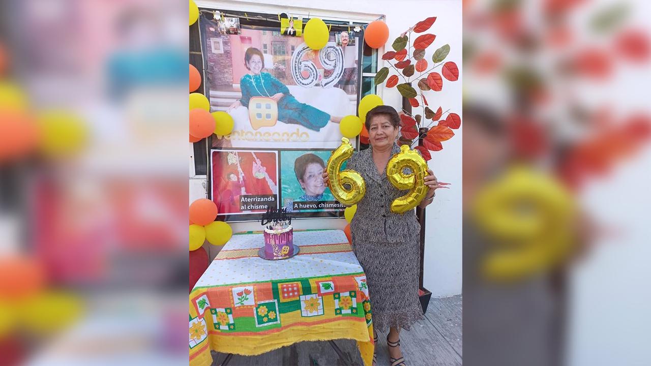 Doña Menchita celebró su cumpleaños a lo 'Pati Chapoy'
