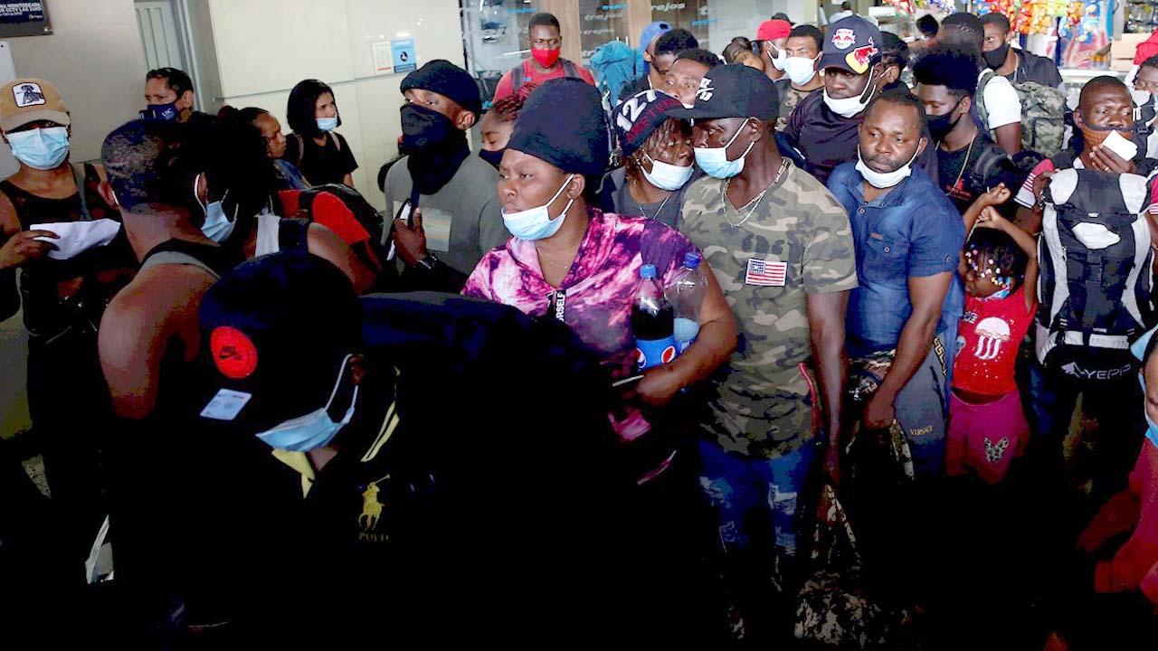 Alerta vienen más de 20 mil haitianos a Coahuila