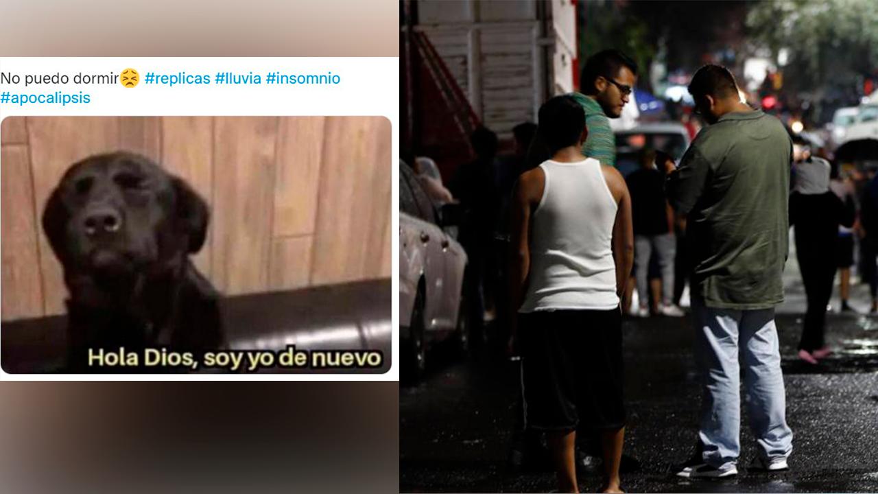 'Hola Dios, soy yo de nuevo'; sismos de septiembre sacuden a México e internautas reaccionan con memes