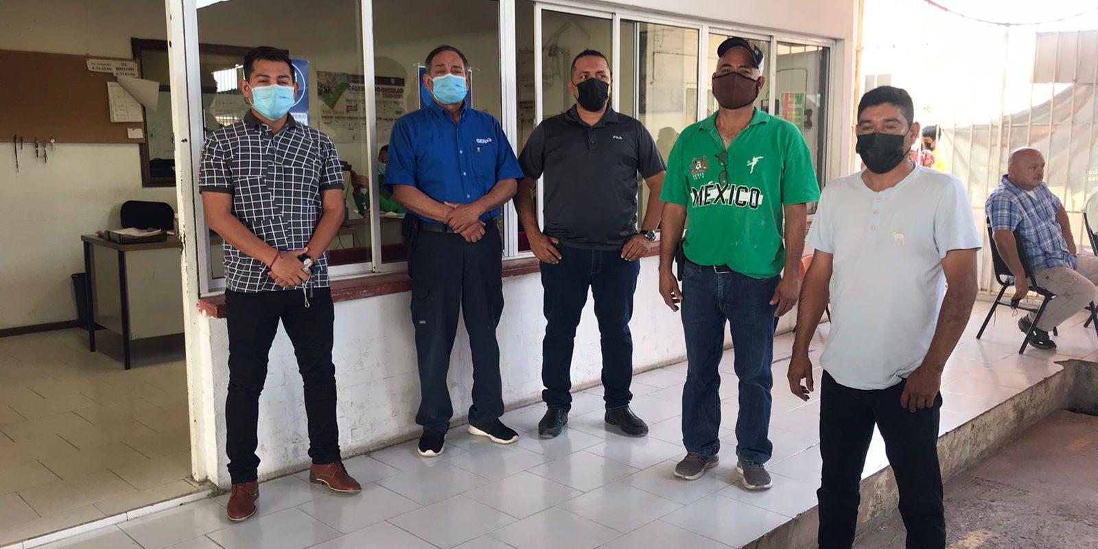 Realizan prueba COVID a cinco trabajadores de la Secundaria 2 Emiliano Zapata