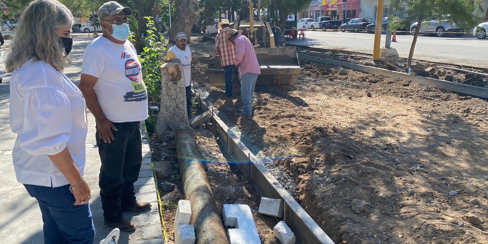Concluye etapa de remodelación de la Plaza Miguel Hidalgo en San Buenaventura