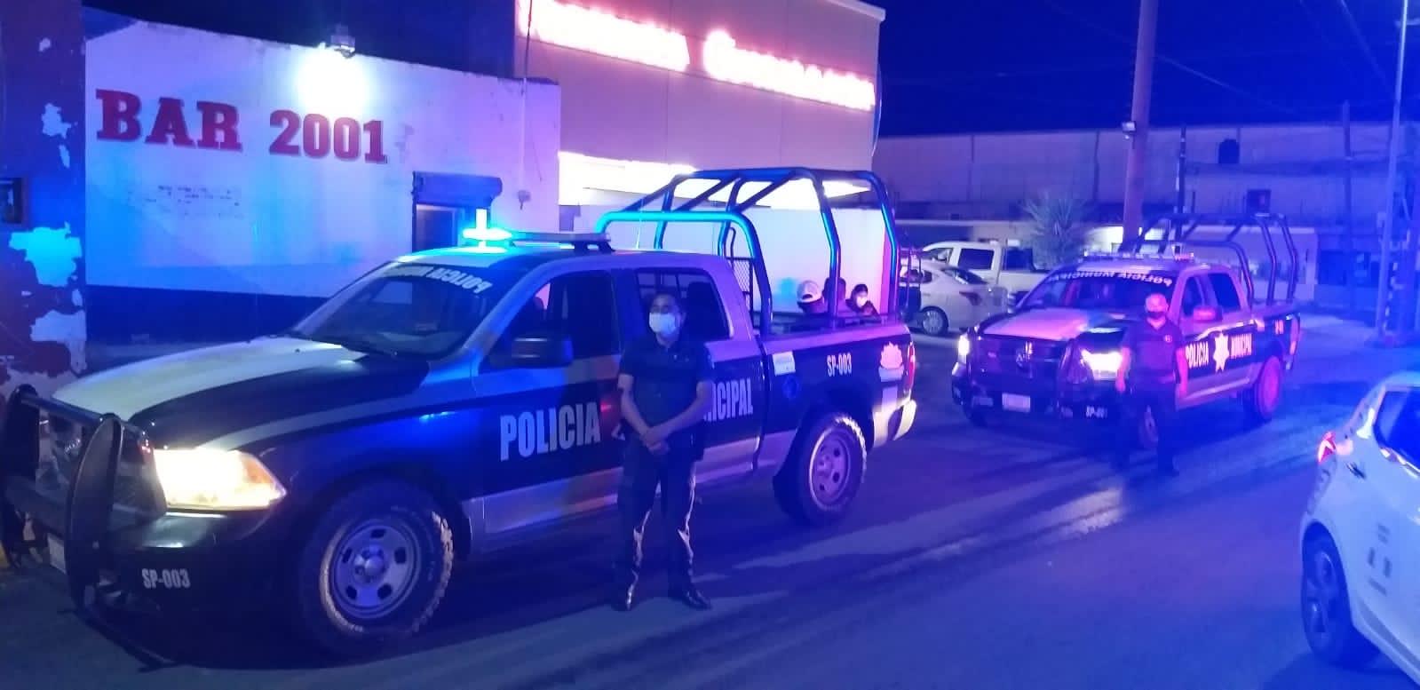 Seguridad Pública implementó el operativo de vigilancia en los edificios públicos y bares de San Buenaventura