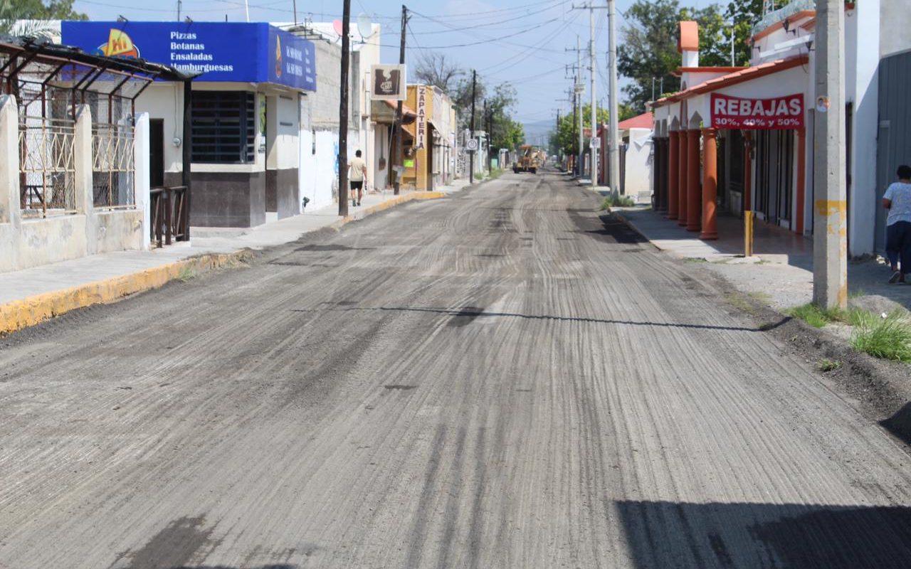 Obras Públicas de San Buenaventura avanza con los trabajos de recarpeteo y pavimentación
