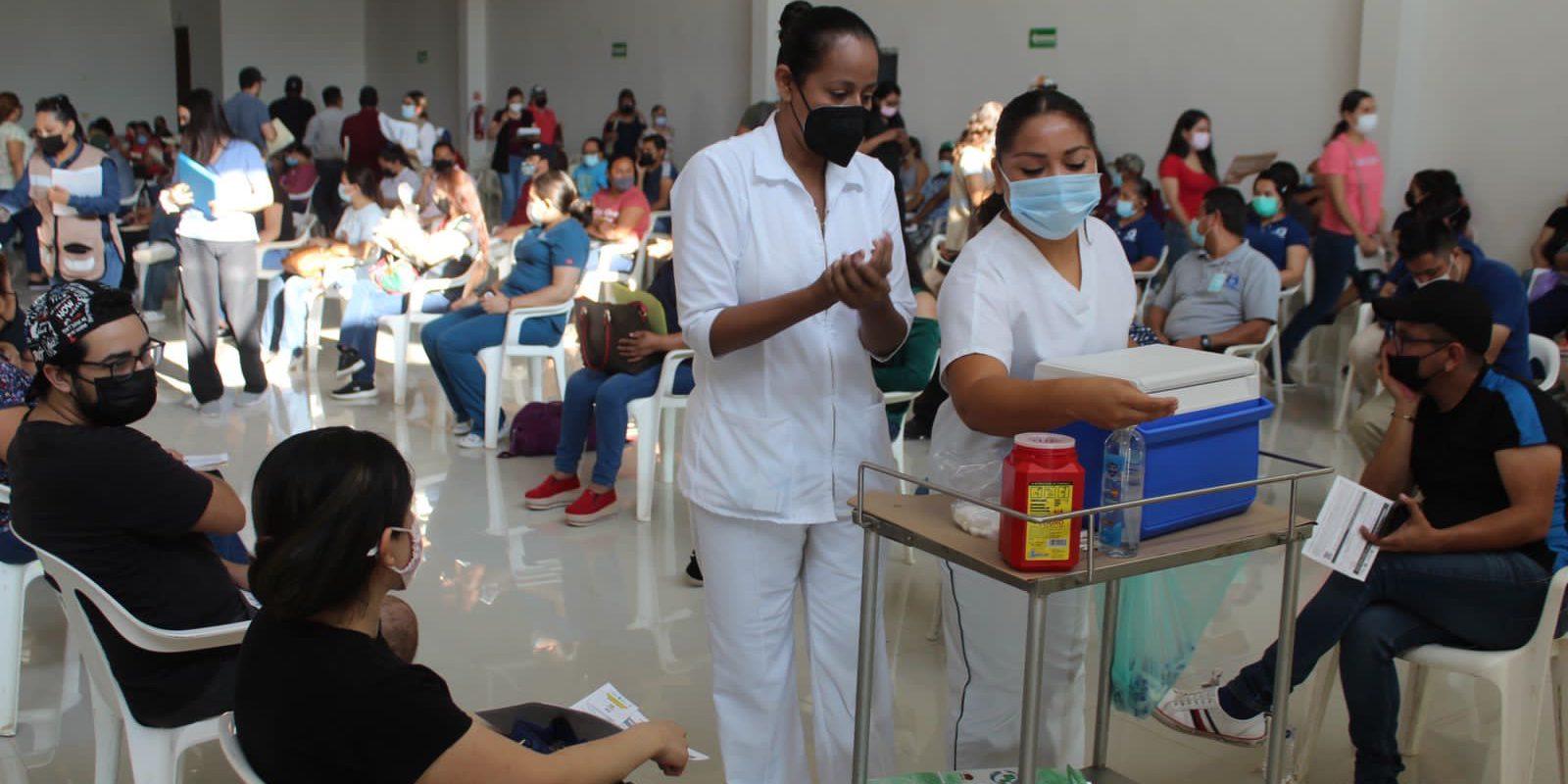 Concluyó en San Buenaventura la vacunación de Pfizer a rezagados