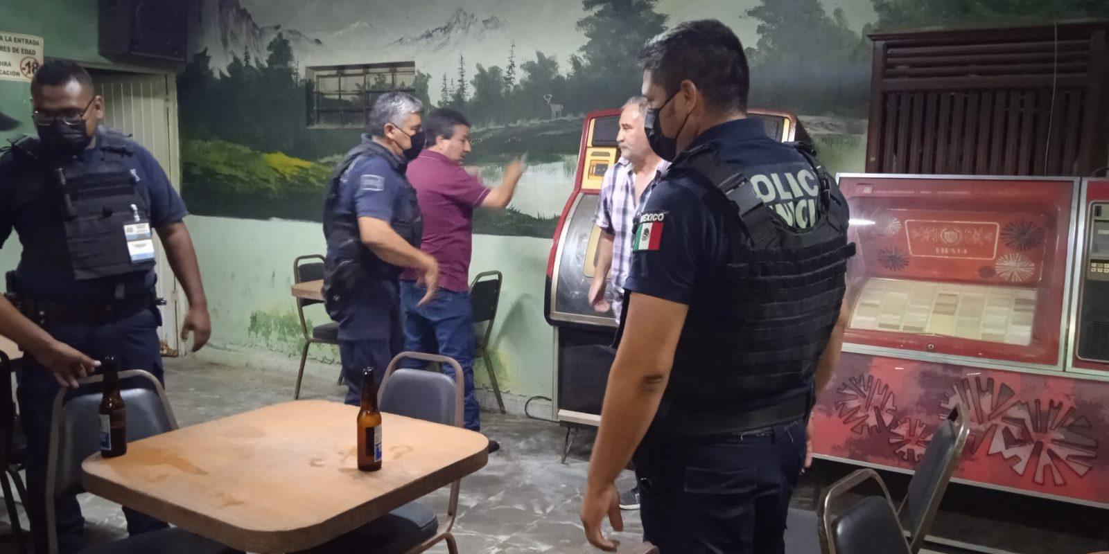 Seguridad Pública montó operativos de vigilancia en antros y bares de San Buenaventura
