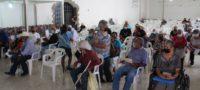Los adultos mayores que habitan en San Buenaventura y Ejidos recibieron su apoyo de 68 y mas Bienestar.