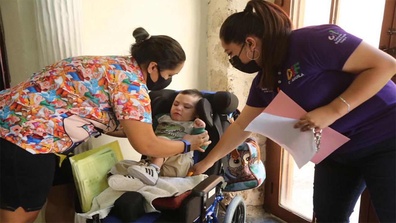 Lleva DIF Coahuila a parras jornada de prevención, detección y atención a personas con discapacidad