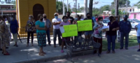 Ciudadanos de Nadadores se manifestaron en contra de la presunta instalación de un crematorio