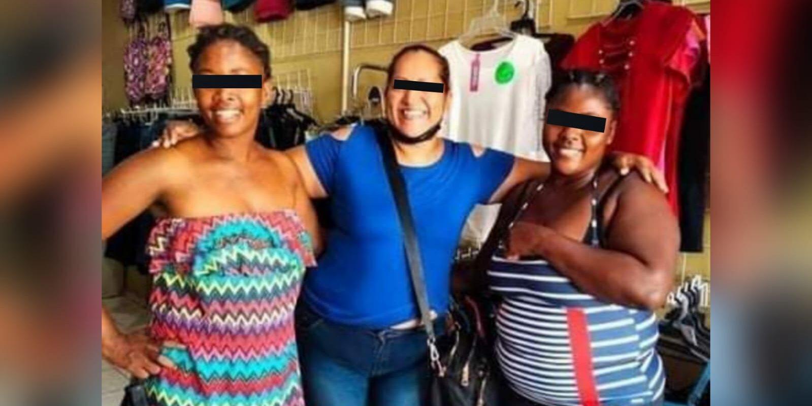 Migrantes haitianas encontraron trabajo tejiendo trenzas en Nueva Rosita