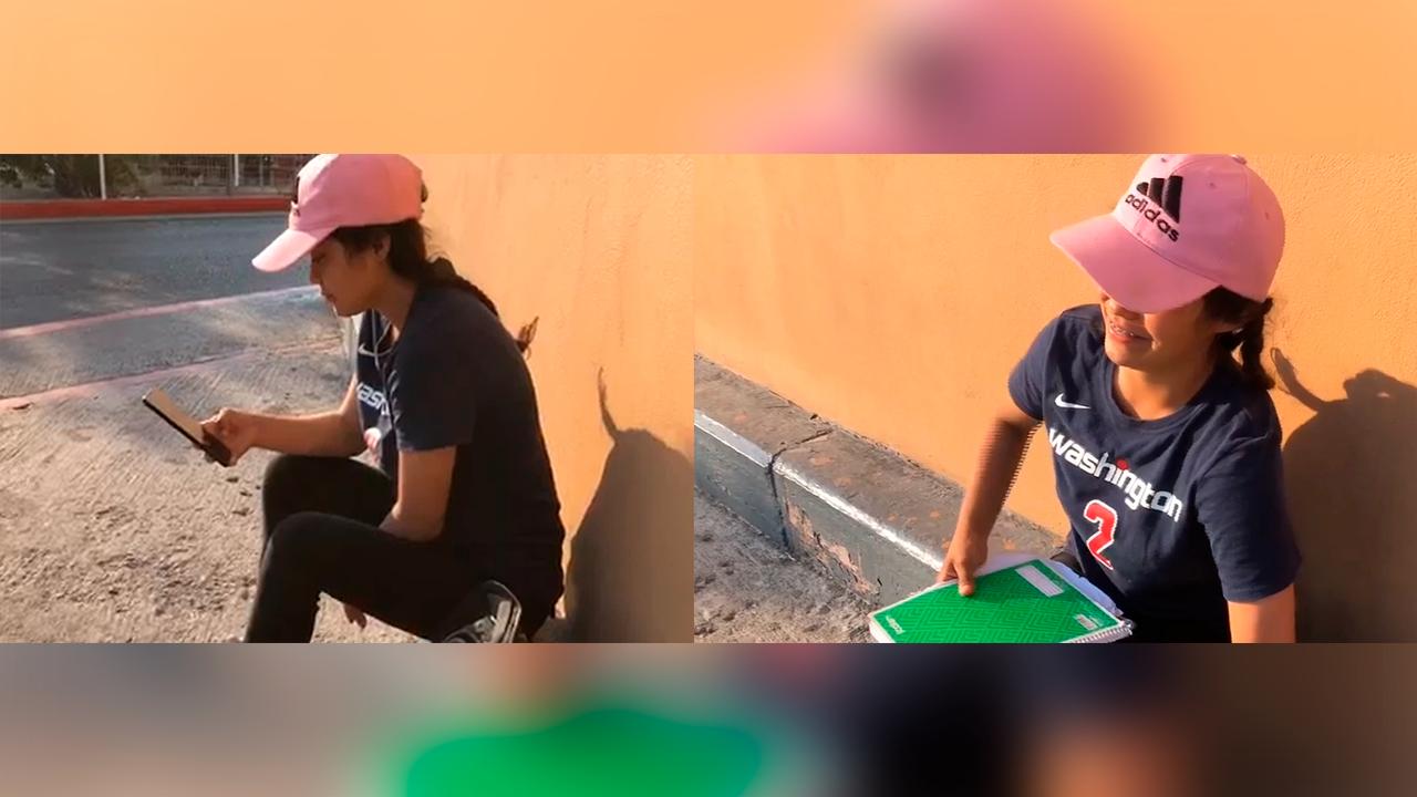 Nayeli logrará graduarse gracias al apoyo de los saltillenses; no tenía Internet para tomar las clases