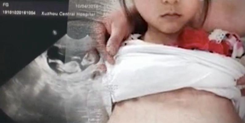 Niñita abortó tras 6 meses de embarazo; fue violada por un hombre de 20 años y su familia no sabía