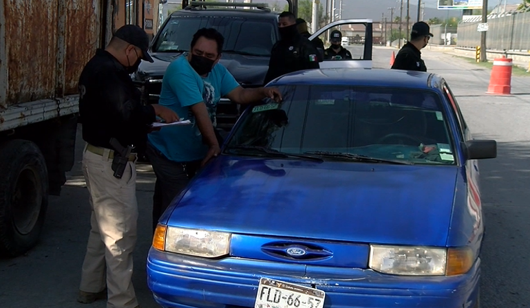 Regresan los operativos de revisión de placas vencidas a ciudad Frontera