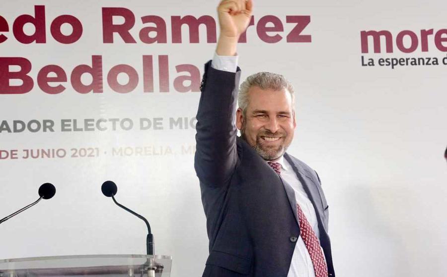 PRD-PAN-PRI preocupados por el triunfo de Alfredo Ramírez, en Michoacán; piden anular elecciones