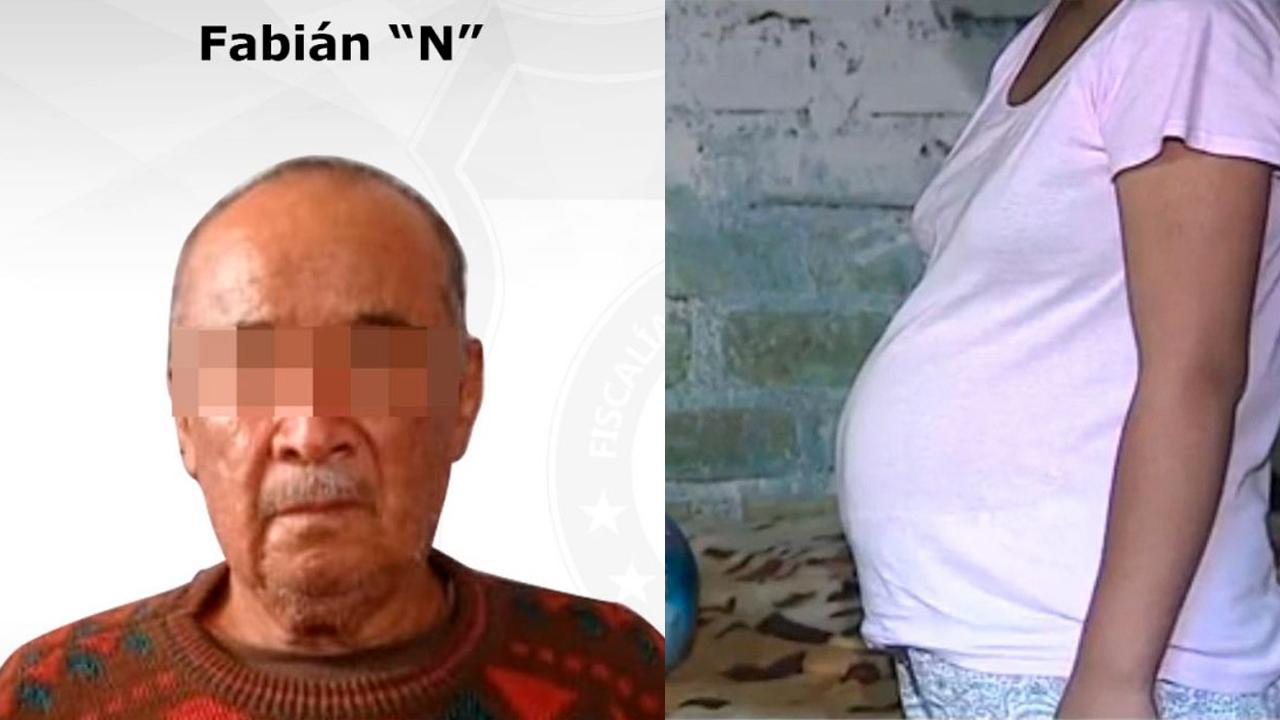 Policiaca: Abuelito embarazó a su nieta de 14 años; la tomó a la fuerza y la violó brutalmente