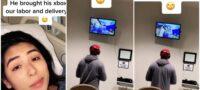 Se va a perder el nacimiento de su hijo por jugar Hombre llevó su Xbox al hospital donde nacería su bebé