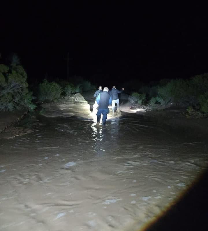 Las intensas lluvias afectaron al Ejido Estanque de León