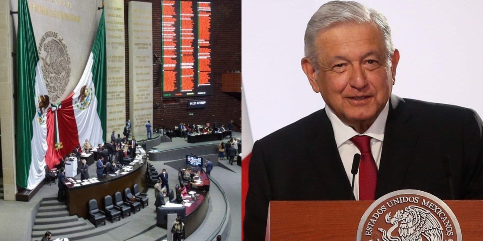 Aprueba Cámara de Diputados Ley de Revocación de Mandato a partir de la 'pérdida de confianza'