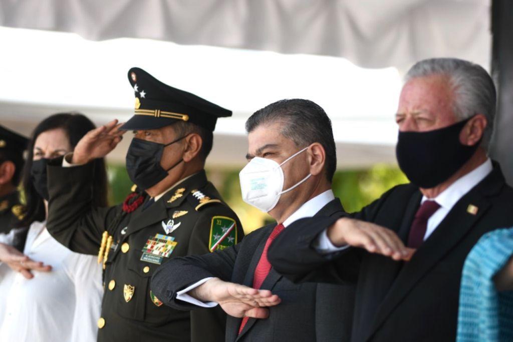 Encabeza MARS en Torreón acto cívico de la gesta heroica de los niños héroes